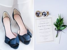 Kate Spade heels and a locket with her grandparents pictures made this bride's details amazingly personal and fantastic! Check out all the moments and memories at www.sarahbenblog.com