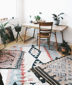 How to Skillfully Combine Multiple Rugs in a Room | When you have more than one seating area in a space—dining area, living area, etc.—you're going to need multiple rugs to get the job done. I reached out to designer Donna Mondi of Donna Mondi Interior Design for a crash course on how to combine rugs.