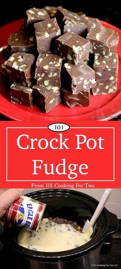 54 Super Delicious Crock Pot - Slow Cooker Dessert Recipes Let's make some great fudge that's so easy even a child could do it. This crock pot fudge recipe is just what you need for the holidays. Slow Cooker Desserts, Crock Pot Desserts, Köstliche Desserts, Delicious Desserts, Yummy Food, Crock Pot Candy, Crock Pot Slow Cooker, Crock Pot Cooking, Crock Pots