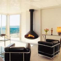 Paxfocus wood stove fireplace from CF+D
