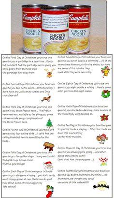 12 days of christmas gag gifts