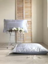 French Stripes Pillowcase Chic Bedding, Quilt Bedding, Bedding Sets, Shabby Chic Euro Sham, Shabby Chic Decor, Ruffle Bedspread, Decor Market, Country Chic Cottage, French Decor
