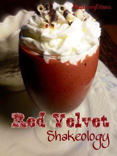 Badassery Fitness: RED VELVET CAKE SHAKEOLOGY the Best RECIPE EVER!! HANDS DOWN =)www.myshakeorocks.com