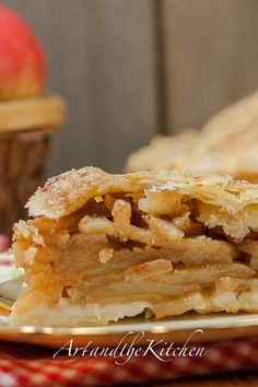 (Canada) Grandma's Old Fashioned Apple Pie with the best ever flaky pie crust!