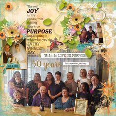 Live Life on Purpose by Snickerdoodle Designs is a mix of classic and artsy digital scrapbook bits and pieces.  This colorful kit was inspired by the everyday moments that are stitched together over the years and become our individual life story. Our life of purpose. Life happens in minutes and milestones.  Live Life On Purpose was designed to capture both.