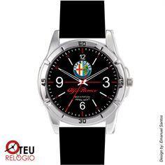 Mostrar detalhes para Relógio de pulso OTR 0001 LOGO ALFA ROMEO PRETO