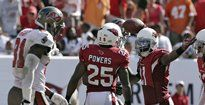 Client Teddy Williams WR #16 already making an impact with the Cardinals. 51 yard catch.
