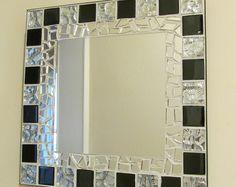 Items similar to Handmade mosaic mirror on Etsy
