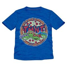 Toddler Boys' TMNT T-Shirt - Blue