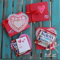 Welch's Fruit Snacks and Handmade Valentine's!
