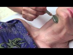 This video introduces the lymphatic facial treatment for health and beauty. It can be done as a professional treatment by Massage Therapists, Estheticians, N...