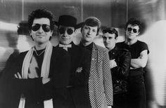 Squeeze , Orpheum, met them backstage 12/18/1988