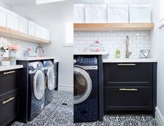 A Before and After Laundry Room Remodel Story: Small Laundry Room Ideas | Delta Faucet Inspired Living