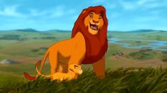 The Lion King - Morning Lesson With Mufasa
