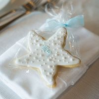 Starfish Cookie Place Settings