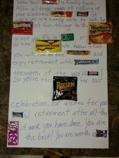 Candy Retirement | Things that interest me:-) | Pinterest | Retirement ...