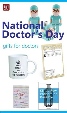National Doctors Day ideas - appreciation gifts for doctors. Staff Gifts, Teacher Gifts, Gifts For Coworkers, Gifts For Dad, Christmas Thank You Gifts, Doctors Office Decor, Good Doctor, Doctor Stuff, National Doctors Day
