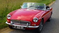MGB Cabriolet 1967 Tartan Red Voitures Morbihan - leboncoin.fr