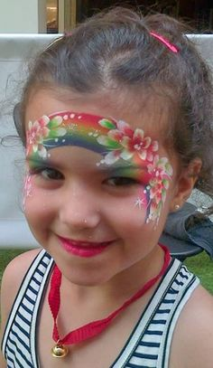 Image result for rainbow face paint sign banner