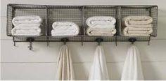 bathroom towel rack ideas - Google Search