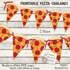 Pizza Party Banner Garland Printable *Pizza Party Bunting* DIY Digital for ninja turtle parties, birthday decor, pizza party decorations - empaques divinos de fullfiesta - Ninja Turtle Party, Ninja Turtles, Ninja Turtle Birthday, Pizza Party Birthday, Turtle Birthday Parties, Carnival Birthday Parties, Party Bunting, Party Garland, Birthday Bunting