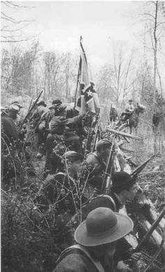 Confederate troops at the Battle of Bull Run