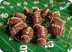 Cocoa Krispie Football Rice Treats