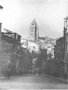 Torre de la catedral después de la guerra