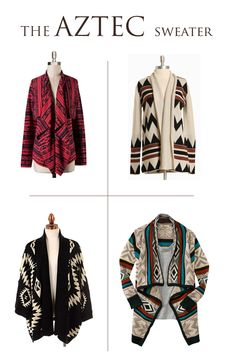 Fall Trend: The Aztec Sweater