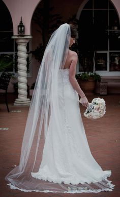 Perfect Floor Length Veil! Is This Excessive?