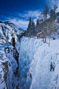Box Canyon, Ouray, Colorado, USA