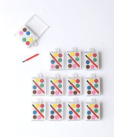 Artist Painting Mini Set Favors – Oh Happy Day Shop