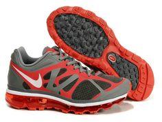 Nike Air Max 2012 Red Grey Black   Style Code:487982-006