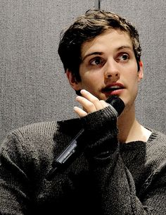 Actor Daniel Sharman at TWC3 in Paris, France