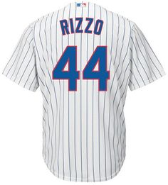 28f932d66 Majestic Men s Anthony Rizzo Chicago Cubs Player Replica Jersey Cubs  Players