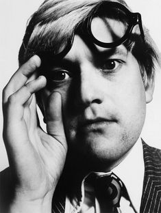 David Hockney, by David Bailey. (Photo by David Bailey/Beetles+Huxley & Osborne Samuel) Swinging London, Black And White Portraits, Black And White Photography, People Photography, Portrait Photography, Fashion Photography, David Bailey Photography, Best Portrait Photographers, Photoshop