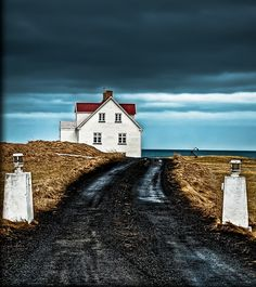 A house by the sea, Iceland, 2011, photograph by Coda Scout.