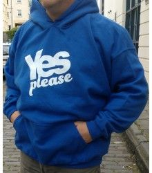 Yes Scotland Hoodies for Mens and Women available in all sizes from Small to XXXL. #yesscotland