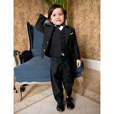 [XmasSale]Boys Wedding Suits Black  Ring Bearer Tuxedo Suits for Wedding (1351213) – USD $ 59.99