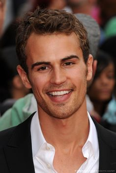 Theo James...great smile!