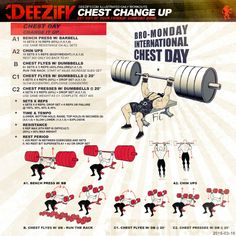 WOD: Chest Change Up Workout  #wod #chest #ChestWorkout