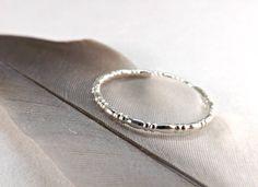 Filigree ring Fancy wire ring Slim silver ring Fine by CrazyAssJD