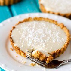 Coconut Cream Tartlets with #Quinoa Crust #quinoastrong #quinoadesserts #glutenfree  #healthy #dessert #food #desserts #yum #yummy #amazing #instagood #instafood #sweet