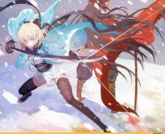 148 Best Sakura Saber Images Fate Sakura Sabre