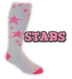 Baseball-Softball - Apparel Socks - Star Baseball-Softball Socks Be a Star! Youth size too!