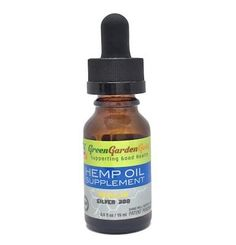 Silver Level Hemp Oil Supplement has 300mg of CBD in a 30ml tincture. Green Garden Gold is a leading producer of the highest quality organic hemp oil products whose goal is to support health and a beneficial lifestyle.