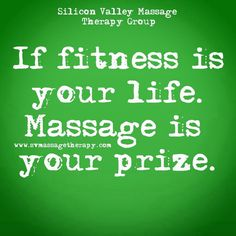 If Fitness is your Life. Massage is your Prize. Get Massage at svmassagetherapy.com (408)-260-2256