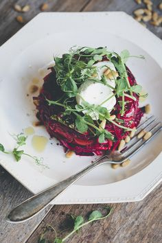 Upside-Down Beet Salad