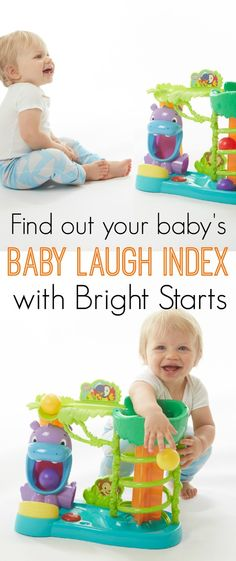 Find out your baby's Baby Laugh Index with Bright Starts