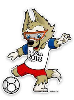 Saiba como desenhar Zabivaka, o Mascote World Cup Russia 2018, World Cup 2018, Fifa World Cup, Soccer Cup, Football Soccer, Hockey, World Cup Logo, Football Tournament, Polo Shirt Women